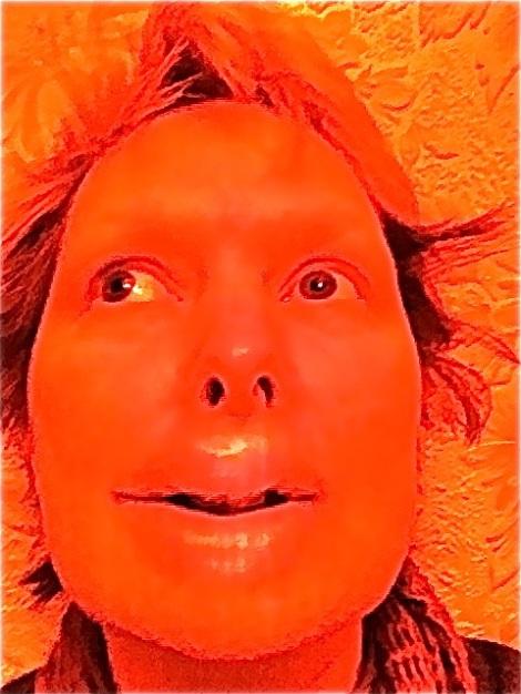 Rainbow of Imperfection -My Orange Head